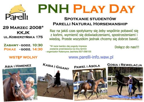 PNH Play Day - plakat